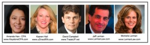 cashflow strategist david campbell jeff lerman amanda han kaaren hall michelle lerman