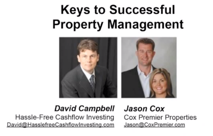 investment property manager real estate