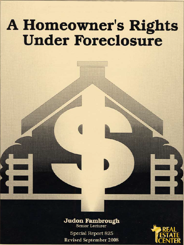 Foreclosure Process ebooks