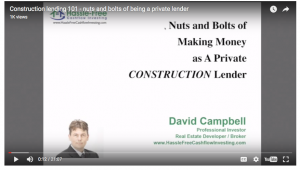 nuts and bolts of construction lending