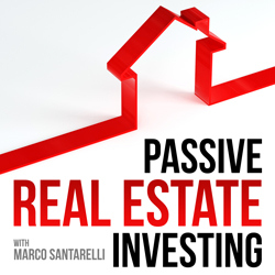 passive real estate investing podcast_cover